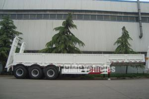 China Heavy duty semi low bed trailer on sale