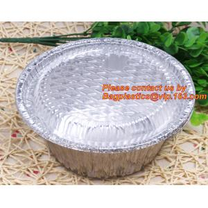 China disposable food packaging aluminum foil container, tray, box Customised food Aluminum Foil, bakery box, bakery container on sale