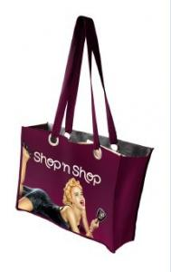 China Colorful Tote Non Woven Shopping Bags , Glossy Laminated Non Woven Bag on sale