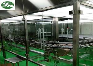 China Class 100 Clean Room Laminar Air Flow System , GMP Laminar Airflow Hood on sale