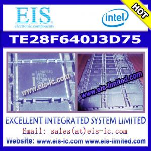 China TE28F640J3D75 - INTEL - Numonyx™ Embedded Flash Memory (J3 v. D) on sale