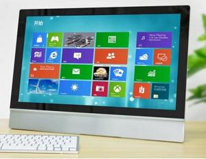 China 23 Inch LED Touchscreen Panel PC , 10 Points Infrared Touch PC AIO on sale