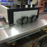 V cisaillement de coupe de carte PCB de panneau de bande de carte PCB Depanelizer MCPCB de cannelure