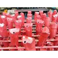 Forging Tungsten Carbide Rock Drill Bits , Chisel Drill Bits For Hammer Drill