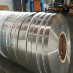 Single Side Coated Aluminum Strip Roll 0.2mm Thickness For PPR Pipes Durable
