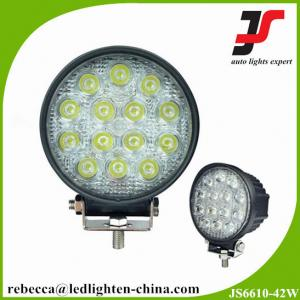 China Cheap 4 inch led driving light 42W LED work lights round off road led work light on sale