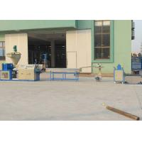 China PVC Plastic Recycling Equipment Conical Twin Screw Extrusion Pelletizing Line Durable on sale