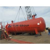 China Carbon Steel 80000L 80m3 40MT Burried LPG Gas Storage Tank to Nigeria on sale