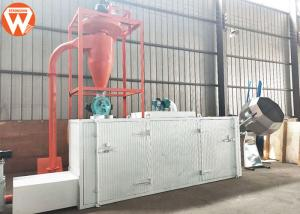 China Multi Layer Aquatic Fish Feed Dryer Machine 150-200kg/H 0.37kw Exhaust Wind Power on sale