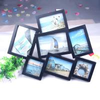 Chinese Manufacturer 7 opening collage photo picture frames 4x6 plastic photo frame