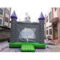 Flame Resistant 0.55mm PVC Halloween Inflatable Jumping Castles For Festival