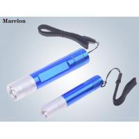 China Torch Mini LED tactical flashlight, AA battery Mini Emergency Flashlight with Lanyard on sale