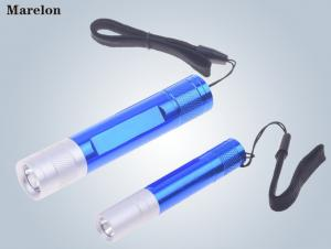 China Torch Mini LED Emergency Flashlight Aluminum Alloy Material 19.5X101mm Size supplier