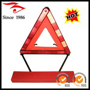 China car emergency tool, car warning triangle on sale