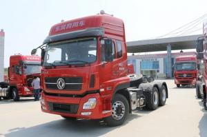 China Dongfeng Semi Trailer Tractor Head Truck 10 Wheel 6X4 Tractor Head Trailer on sale