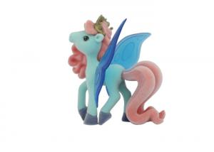 China Green Color Plastic  Pony Figures Toys With Flying Wing  2.5' - 3 on sale