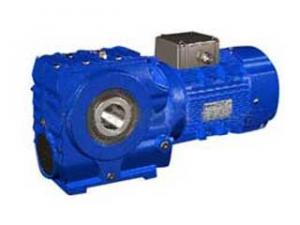 China worm gear reducer supplier 42CrMo alloy steel Output shaft material on sale