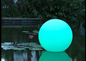 China Romantic Color Changing LED Glow Ball Lamp Rechargeable For Garden / Yard on sale