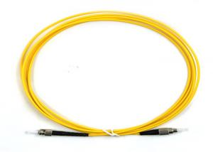 China FC ST Single Mode Fiber Patch Cord Jumper 3m Fiber Optic Jumper Cables on sale