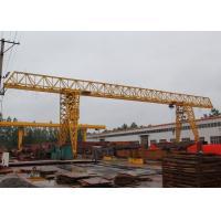 Truss Type Single Girder Gantry Crane , Travel Lift Gantry Crane MH Model