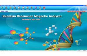 Quality portuguese Version Quantum Therapy Machine , AH - Q6 magnetic resonance quantum for sale
