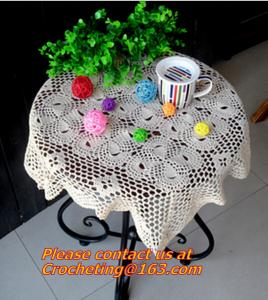 China round crochet tablecloth white round tablecloths, multi-purpose towel towel fabric sofa on sale