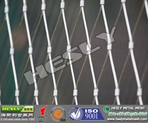 Stainless Steel Wire Rope Mesh Fence, Wire Cable Mesh for sale ...