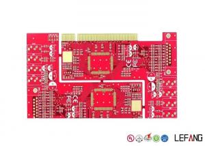 China FR4 Multilayer PCB Board 1OZ Copper Thickness For Communication With Gold Finger on sale