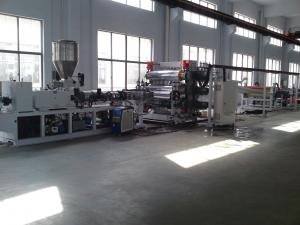 China Newest/Cheapest PP Sheet Extrusion Line/pe plastic sheet/pp stationery sheet extrusion on sale