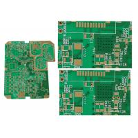 8 Layer Rogers FR4 Mixed PCB With 0.634mm THK High Reliability