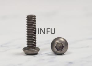 China Titanium Hex Flat Head Socket Screw Iso 7380 Grade 7 For Chemical Environment on sale