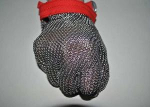China Security Protective Steel Mesh Gloves For Cutting Meat , Anti - Corrosion on sale