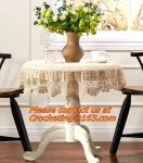 crochet lace tablecloth tablecloth Sen Department of multi-purpose towel towel fabric sof