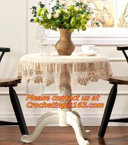 China crochet lace tablecloth tablecloth Sen Department of multi-purpose towel towel fabric sof on sale
