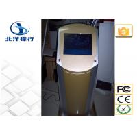 Multi Function Digital Signage, loby Touch Screen Information Kiosk With Finger Printer