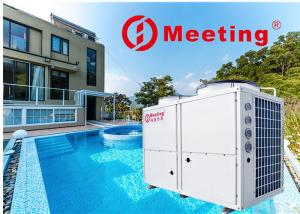 China 50KW Constant 38 Degree Swimming Pool Heat Pump Pool Water Heater 15000L/H Anti - Corrosion Heat Exchanger on sale