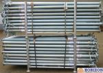 Slab Post Shoring Adjustable Scaffolding Prop Q345 Steel Pipe For Formwork Supporting