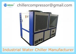 China 100KW Industrial Air Cooled Water Chiller for Power supply and Plate Heat Exchanger on sale
