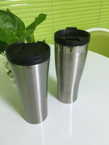 China for office use FDA certificated double wall vacuum insulated anti-slip suction mug coffee mug on sale