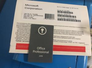 China Online Activition Windows COA Sticker Office 2019 Professional Oem Key Card on sale