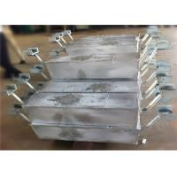China Aluminum Anodes for offshore project Hull Ballast tanks Harbor Structure on sale