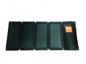 China 24W CIGS Flexible Solar Charger Pack , Portable Solar Power Pack With Amorphous USB on sale