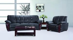 China Leather Sofa (70010) on sale
