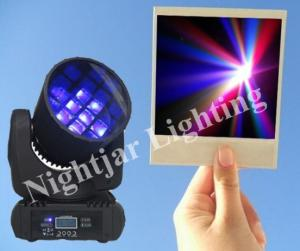 China 12 x 10W 4in1 Cree Led Stage Lighting Fixtures With Beam Moving Head on sale