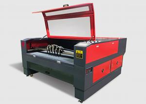 China 150 W CNC Co2 Laser Cutting Engraving Machine 4 Head For Leather / PU / Canvas on sale