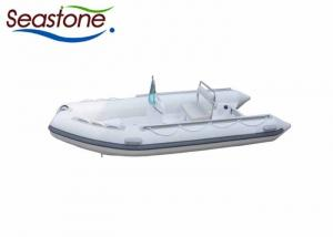 China 35 HP Hard Bottom Inflatable Boats 800 KGS  Loading Capacity Small Engine Noise on sale
