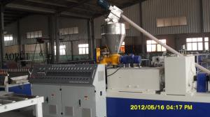 China CPVC / UPVC Drainage Plastic Pipe Extrusion Line on sale