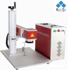 China Quality raycus laser source 20w fiber laser marking machine /laser engraving machine supplier on sale