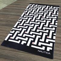 Labyrinth Maze Patterned Beach Towels