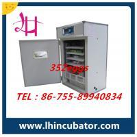 352 eggs incubator CE Marked best price lh-4